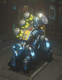 Acid cannon equipped