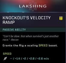 Velocity ramp gear box