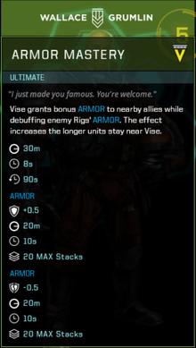 Vise Signature Move Gearbox