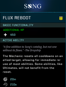 Flux reboot gear