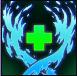 Healing aura icon