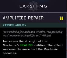 Amplified Repair Gear Card