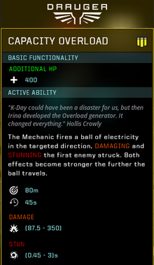 Capacity overload gear