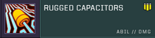 Rugged capacitors title