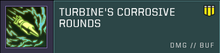 Corrosive Rounds
