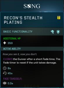 Recon Body Slot Gearbox