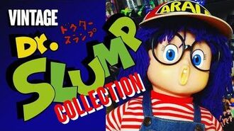 Vintage 80's Arale & Dr. Slump Collection!! Hoyoyoyooo!!!