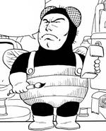 Manga bubibinman