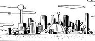 Big city island manga