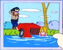 Taro unknown girl car crash