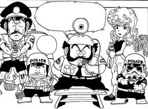 Police force manga