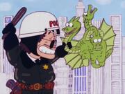 King Ghidorah Police