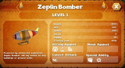 Zeplin bomber