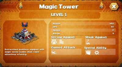 Magic tower
