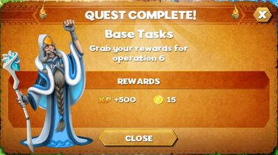 Base task reward