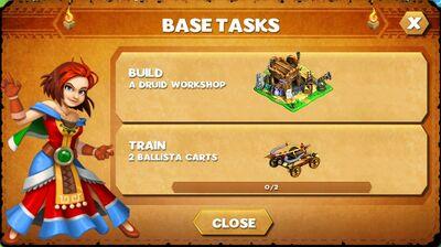 Base tasks