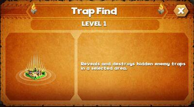 Trap find