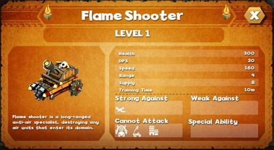 Flame shooter