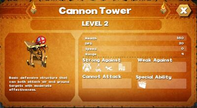 Cannon tower