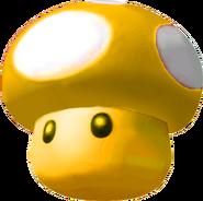 Golden Mushroom