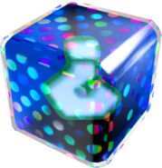 Blue Fake Item Box - Mario Kart Wii