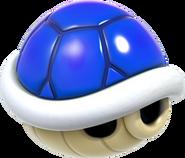 Blue Shell Artwork - Super Mario 3D World