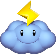 Lightning Cloud - Mario Kart Wii