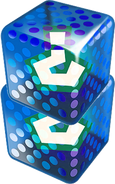 Double Blue Fake Item Box Mario Kart 7