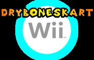 Dry Bones Kart Wii Logo