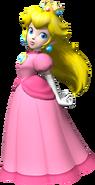Princess Peach - Dry Bones Kart DS