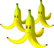 Triple Bananas - Mario Kart Wii