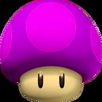 Poison Mushroom - Mario Kart Wii