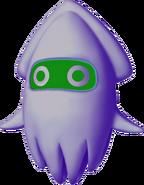 Poison Blooper - Mario Kart Wii