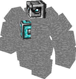 Big Golem Mo Creatures Wiki FANDOM Powered By Wikia - Skins para minecraft pe golem