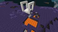 Quartz portal lava