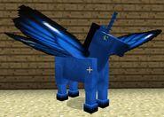 Blue fairy horse
