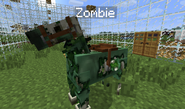 Undead zombie horse decay