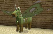 Lime fairy horse