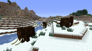 Mammoths snow biome