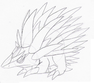 Prickly Ice Sketch
