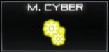 M. Cyber Icon