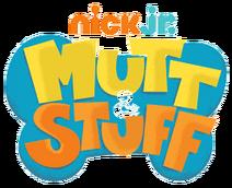 Nick Jr. Mutt & Stuff Logo Original