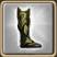 Botas de escama de dragão