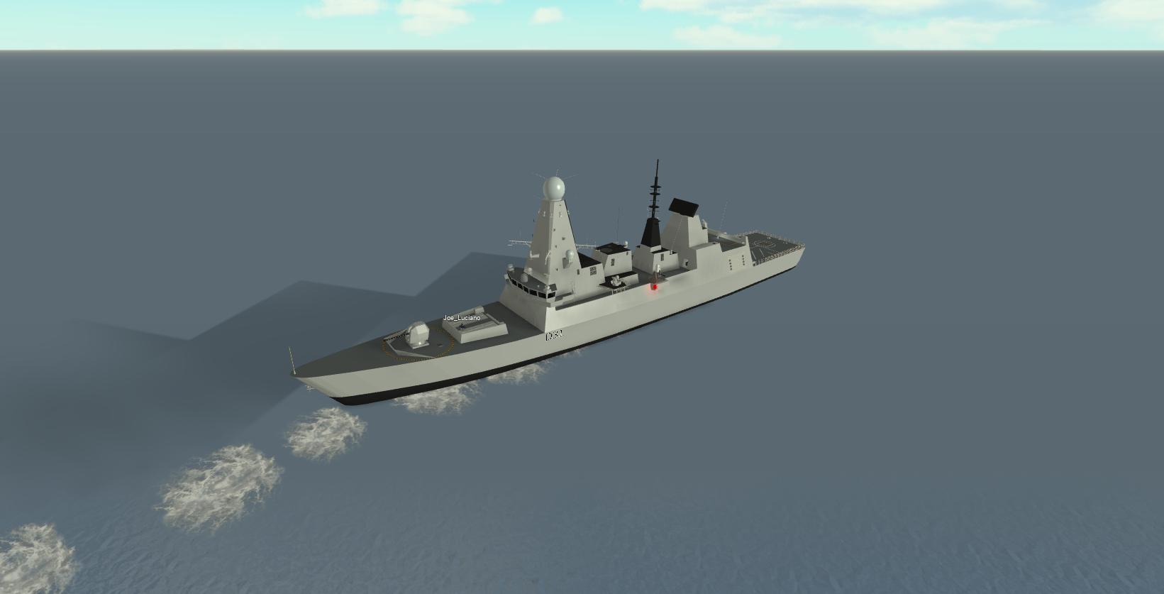 Type 45 Destroyer | Dynamic Ship Simulator III Wiki | FANDOM