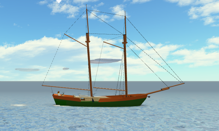 Gaff-Rigged Schooner | Dynamic Ship Simulator III Wiki