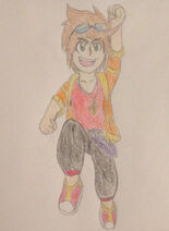 Kyle pose colored