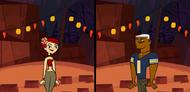 Zoey y Lightning esperando el ultimo Malvadisco