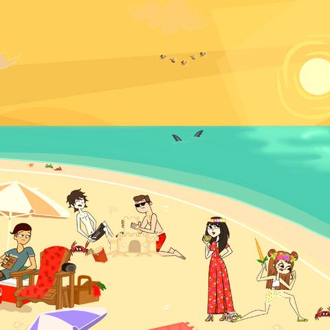 Desafío Semanal playa <a href=
