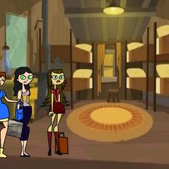 La habitación de las chicas en DTIW