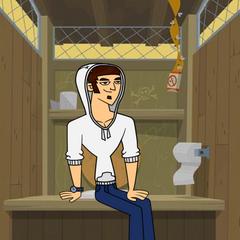 Tomi en el confesionario